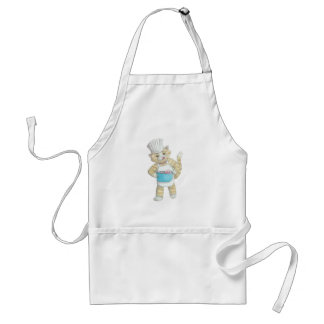 Chef cat humorous apron