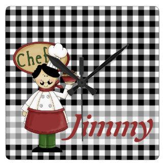Chef Checks Clock