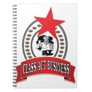 chef class act business notebooks