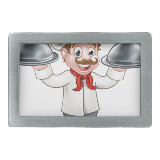 Chef Cook Cartoon Character Mascot Belt Buckles