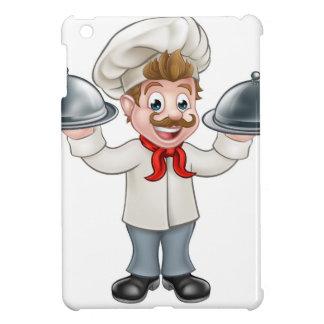 Chef Cook Cartoon Character Mascot iPad Mini Cases