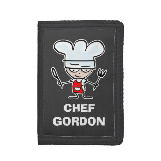 Chef cook wallets and coin purses