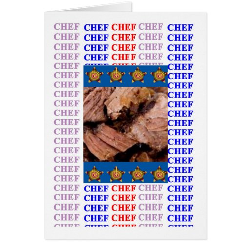 CHEF CUISINE KITCHEN CAFE by NAVIN Joshi Cards