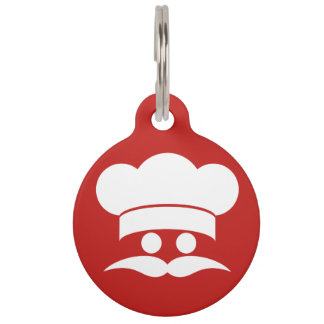 Chef custom color pet tags