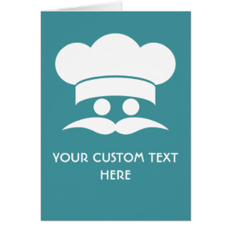 CHEF custom greeting cards