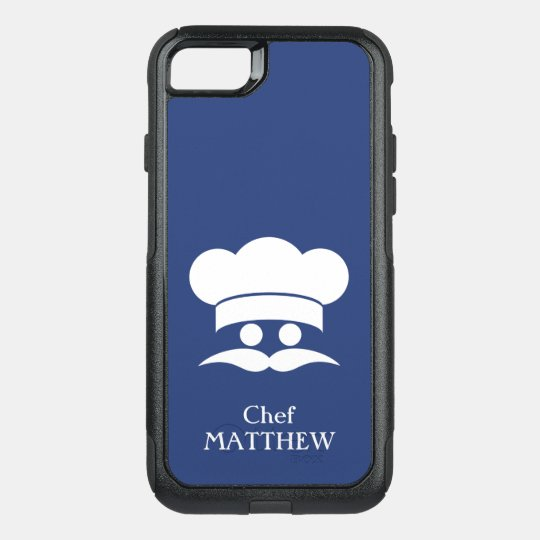 CHEF custom name & colour phone cases