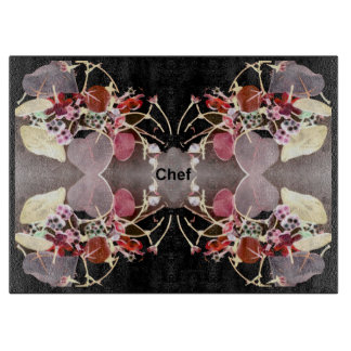Chef Cutting Board - Gray/Black/Red/Pink/White