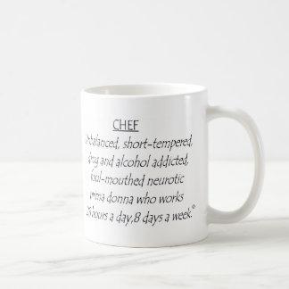 Chef défini mug blanc
