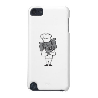 Chef Elephant Arms Crossed Standing Cartoon iPod Touch (5th Generation) Cases