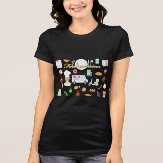Chef Food Service Business Tshirt