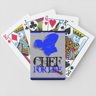 """Chef For Life"" Playing Cards"