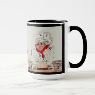 Chef Guiseppe Right Handed Mug