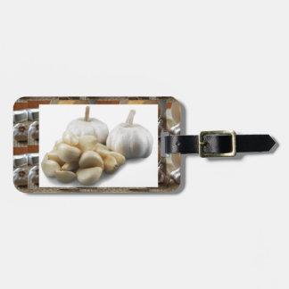 Chef Healthy Eating Cuisine Art Garlic Seasoning Bag Tag