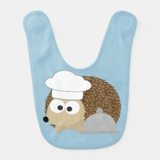 Chef Hedgehog Bib