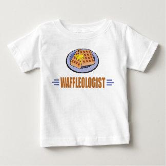 Chef humoristique de gaufre t-shirt pour bébé