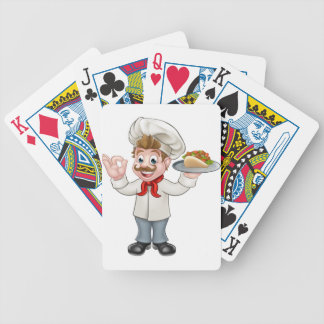 Chef Kebab Cartoon Poker Deck