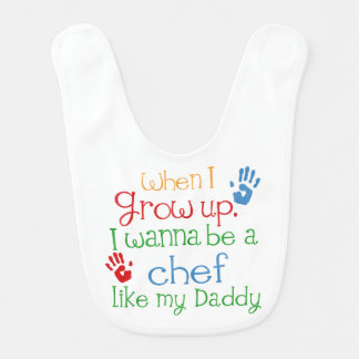 Chef Like My Dad Baby Bib