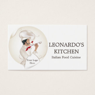Chef Logo For Chef,Catering,Restaurant Business Card