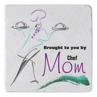Chef Mom Stone Trivet
