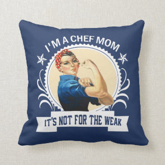 Chef Mom Throw Pillow