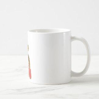 Chef Monkey Red Classic White Coffee Mug