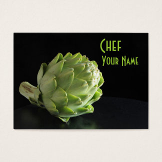 Chef nutrition dietitian business card
