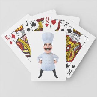 Chef Playing Cards