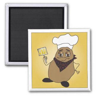Chef Potato Magnet