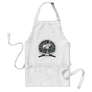 Chef Skull 3 Standard Apron