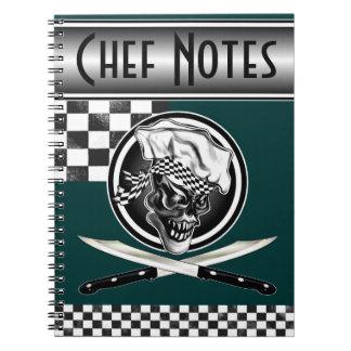 Chef Skull 5 Notebook