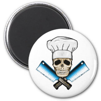 Chef_Skull_C1 Magnet