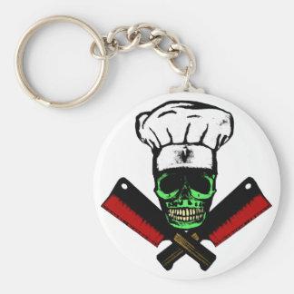 Chef_Skull_HCC1 Keychain