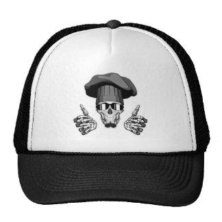 Chef Skull: Thumbs Up Trucker Hat