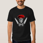 Chef Skull with Chef Knives T Shirt
