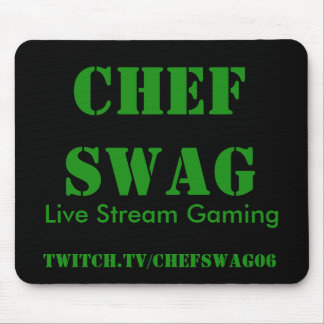 Chef Swag Mouse Pad