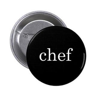 Chef Text Minimalist Button