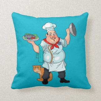 chef throw pillows