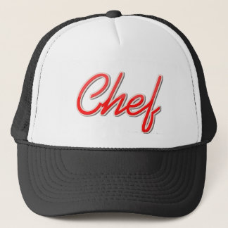 Chef Trucker Hat