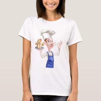 Chef With Perfect Hotdog T-Shirt