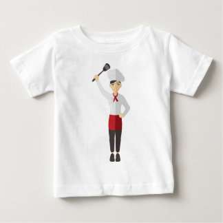 Chef with Spatula Baby T-Shirt