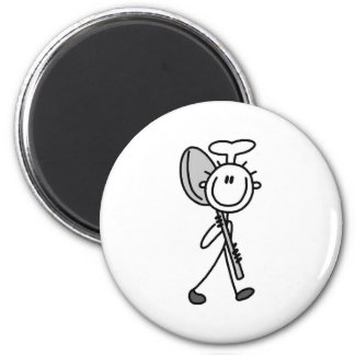 Chef with Spoon 2 Inch Round Magnet