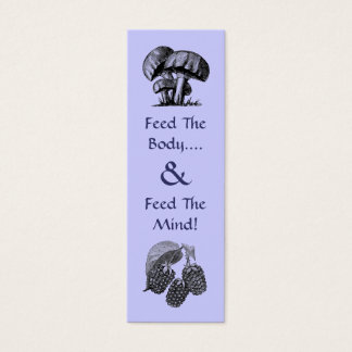 Chef's Bookmark Mini Business Card