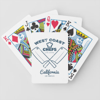 Chefs Vintage T-shirt graphics print Poker Deck