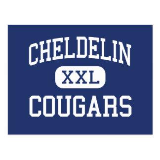 Cheldelin Cougars Middle Corvallis Oregon Postcard