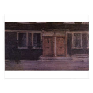 Chelsea Houses by James McNeill Whistler Postcard