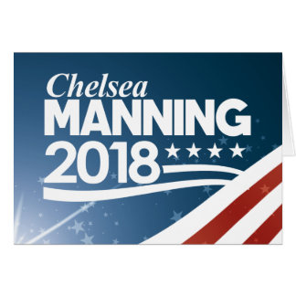Chelsea Manning 2018 Card