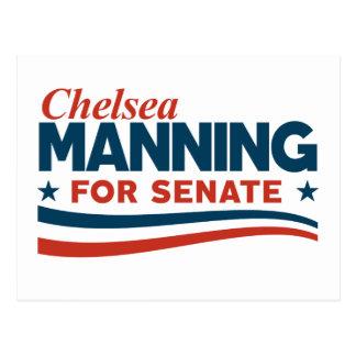 Chelsea Manning 2018 Postcard