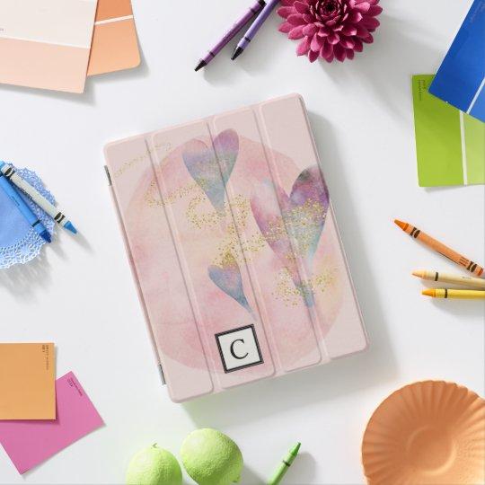 Chelsea Monogram Hearts and Fairy Dust iPad Cover