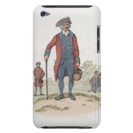 Chelsea Pensioner, from 'Costume of Great Britain' Barely There iPod Covers