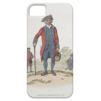 Chelsea Pensioner, from 'Costume of Great Britain' iPhone 5 Covers